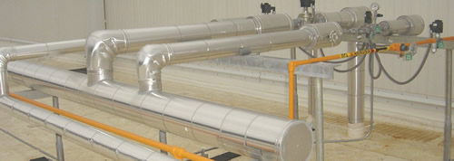 Cold Industrial Pipe Insulation